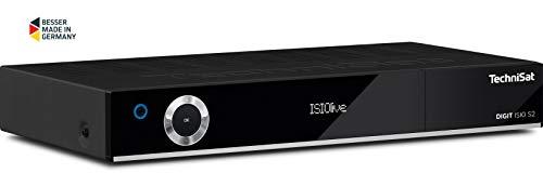 TechniSat DIGIT ISIO S2 HD-Satellitenreceiver (mit PVR-Aufnahmefunktion via USB oder im Netzwerk, Mit passendem CI+ Modul Sky tauglich)