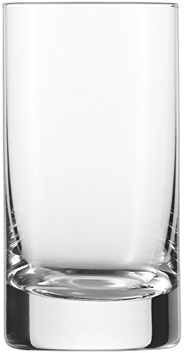 Schott Zwiesel Paris 6-teiliges Saftbecher Set Tumbler, Tritan Kristalglas, Transparente, 6.1 cm, 6