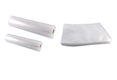 Caso 1235 Profi-Folienset 1 (50x Folienbeutel 20 x 30 cm, 1x Folienrolle 20 x 600 cm, 1x Folienrolle 30 x 600 cm)