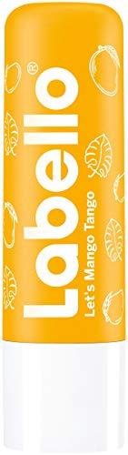 Labello Let's Mango Tango Limited Edition im 1er Pack (1 x 5,5g) - Lippenpflegestift mit Jojoba Öl - schimmernde Lippenpflege mit fruchtigem Mango-Duft