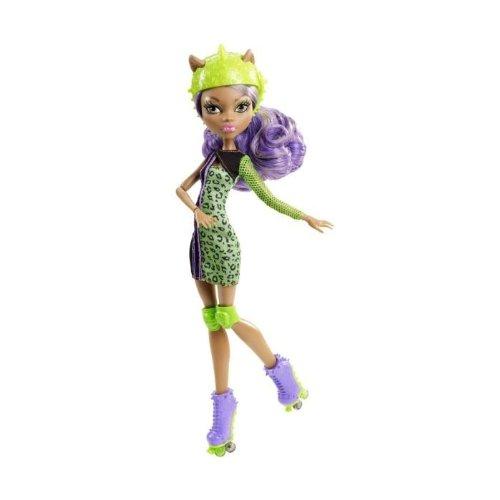 Mattel Monster High Y8350 -  Rollschuh-Clique Clawdeen, Puppe