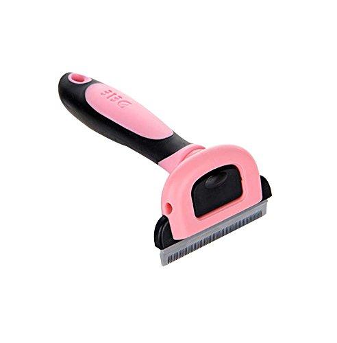 Geeignet für Katzen Nützliche Paddle Brush / Pflege Kamm,Rosa