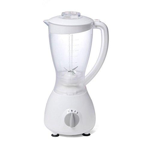 Omega 30252 BG-52 White 350W 2 Speed Jug Blender 1.5L With Spice Grinder {5023588302521}