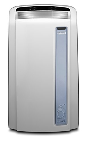 De'Longhi PAC AN97 Pinguino Luft-Luft System Real Feel Klimagerät / A / Max Kühlleistung 2.700 kW/ 10.700 BTU/h / weiß / mobil / Separate Entfeuchtungsfunktion