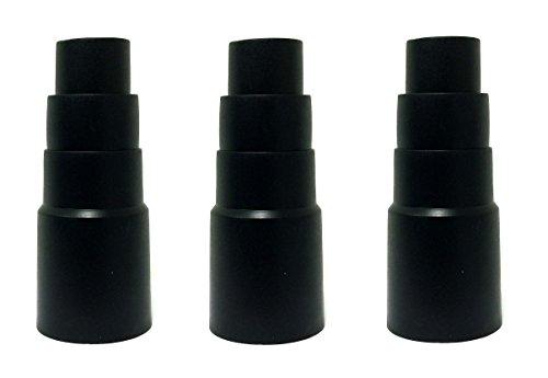 3 Stück Reduzierstück passend für Kress 98039804 Gummimuffe / Reduzierstück / Stufenadapter 35 mm passt z.B.: Kress 1400 RS EA