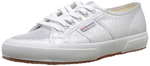 Superga Damen 2750 Lamew Sneakers, Silber (031), Gr. 42