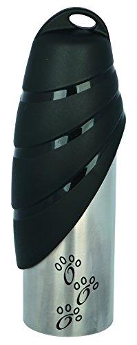 Trixie 24606 Flasche mit Trinknapf, Edelstahl/Kunststoff, 750 ml, farblich sortiert