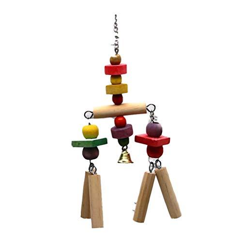 Toporchid Süße Papagei Spielzeug Holzschnur Zum Spielen Von Vögeln Beißen Klettern Heimtierbedarf