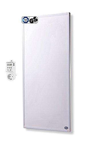 Fern Infrarot Heizung 600 Watt mit Thermostat ✓ GS Tüv ✓ Deutscher Hersteller ✓ 10 Jahre Herstellergarantie ✓ Überhitzungsschutz ✓ Könighaus Heizsysteme® P-Serie