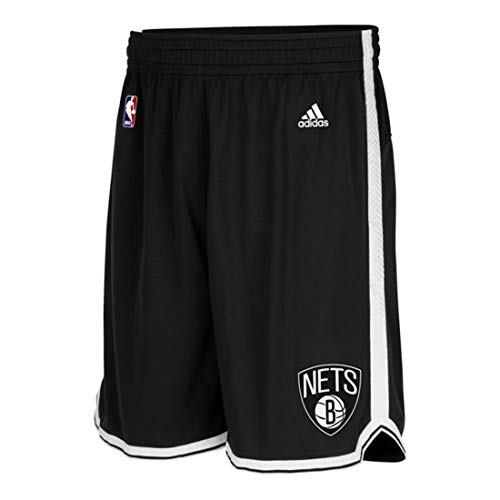 adidas Herren Intnl Swingman Shorts NBA Nets Brooklyn 2, 2XS