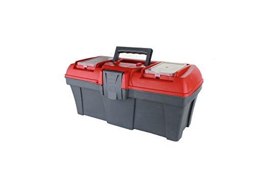 MKK - 19207-001 - Werkzeugkoffer leer Werkzeugkasten Kiste Transportbox Kunststofflaschen M / 16