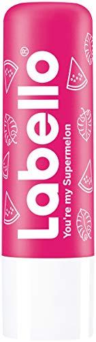 Labello You're my Supermelon im 3er Pack (3 x 5,5g) - Lippenpflegestift mit Sheabutter - Lippenpflege mit fruchtigem Wassermelonen-Aroma