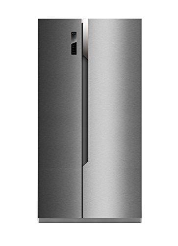Hisense SBS518A+EL Side-by-Side / A+ / 178.6 cm Höhe / 411 kWh/Jahr / 339 L Kühlteil / 177 L Gefrierteil / Total No Frost / Multi Air Flow System