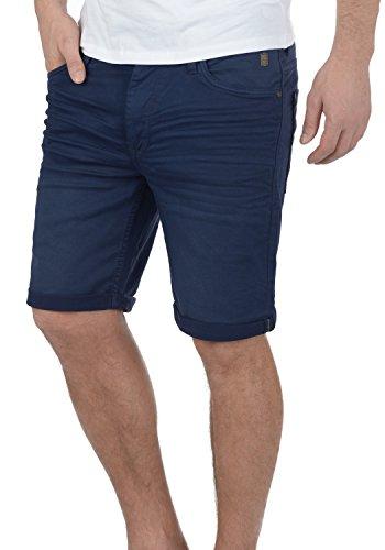Blend Diego Herren Jeans Shorts Kurze Denim Hose Aus Stretch-Material Slim Fit, Größe:S, Farbe:Navy (70230)