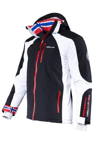 Nebulus Herren Skijacke Davos, XL / EU 52, schwarz