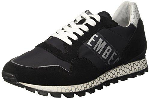 BIKKEMBERGS Herren Fend-ER 2076 Sneaker, Schwarz (Black 999), 41 EU