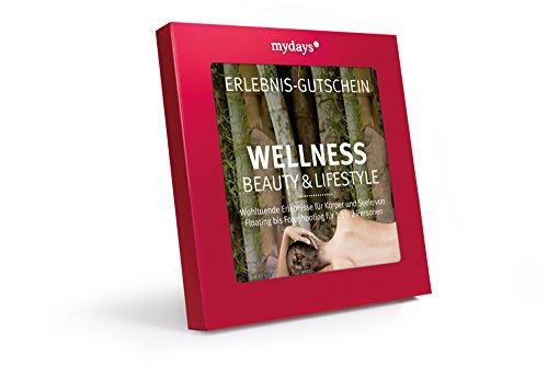mydays Erlebnis-Gutschein 'Wellness, Beauty & Lifestyle'   1-2 Personen, 70 Erlebnisse, 520 Orte   Wellness Geschenk zu Weihnachten