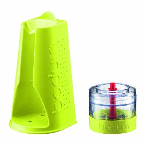 Bodum K11204-565 Bistro Set, Häcksler und Ständer für Bistro Mixer, grün
