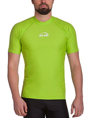 iQ-UV Herren UV 300  Slim Fit Kurzarm T-Shirt, grün (neon green_510), XXL (56)