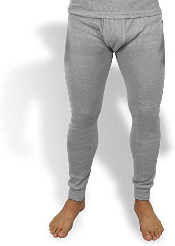 normani Sehr warme Thermo Unterwäsche Unterhose Lang Farbe Grau Größe S=6