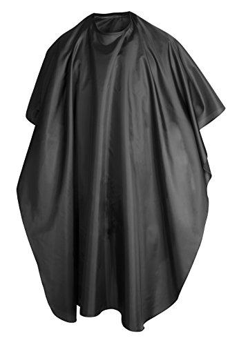 Trixes Frisier-Umhang zum Schneiden, Färben und für Strähnen, Schwarz