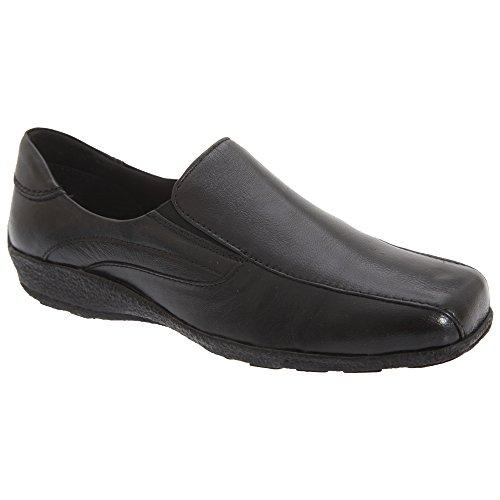 Mod Comfys Damen Halbschuhe/Schuhe / Slipper, Leder (37 EUR) (Schwarz)