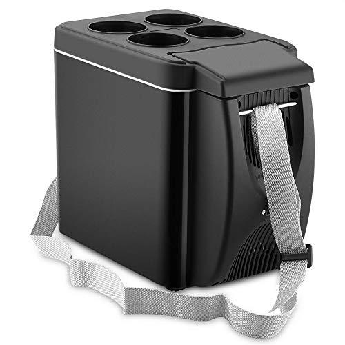 Futurepast elektrische Kompressor-Kühlbox Gefrierbox, 12V Absorber-Kühlbox, Auto Gefrierbox, 6 Liter, Für Picknick,Camping, Reisen