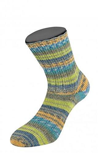 Lana Grossa Meilenweit Malibu Stretch 6309 / 100g Sockenwolle