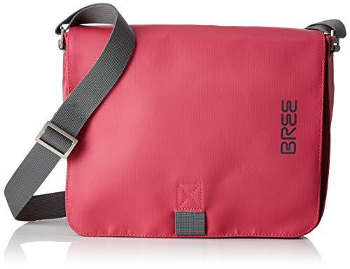 BREE Collection Unisex-Erwachsene Punch 61, Jazzy, Shoulder Bag S19 Schultertasche, Pink, 6x21x26 cm