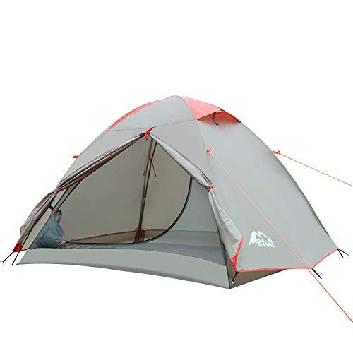 Bfull Outdoor Leichtes Camping Zelt kuppelzelt für 1-2 Personen Wasserdicht Wurfzelt 210 x 140 x 110 cm