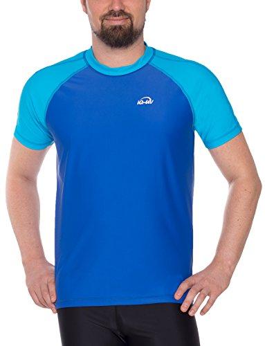 iQ-UV Herren UV 300 Shirt Loose Fit T, Hawaii-Blue, XL (54)