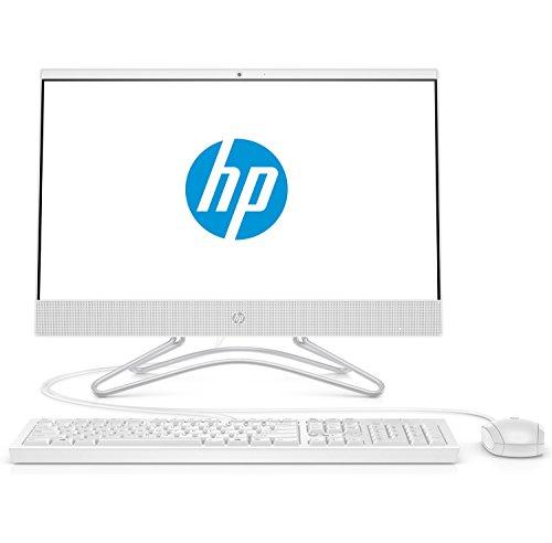 HP 22-c0016ng (21,5 Zoll / Full HD) All in One PC (AMD A6-9225, 4GB DDR4 RAM, 256GB SSD, AMD Radeon R5, Windows 10 Home) weiß