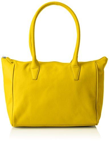 BREE Damen Sylvie 1 Sm, l Schultertaschen, Gelb (Yellow 330), 42 x 14 x 26 cm