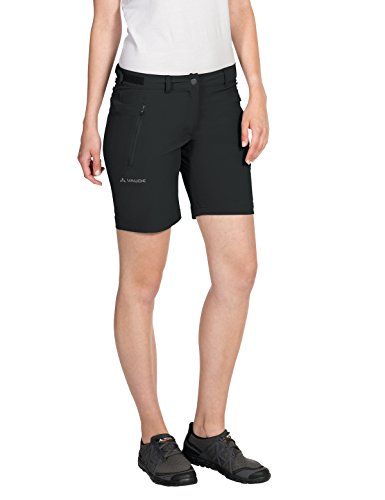 VAUDE Damen Farley Stretch Short Hose, schwarz (Black), 36/XS