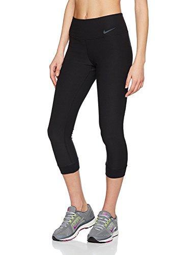 Nike Damen Power Legend Caprihose, Black/Cool Grey, L