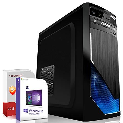 Multimedia Gaming PC AMD FX-8350 8x4.2GHz Turbo |ASUS Board|16GB DDR3|120GB SSD+1000GB HDD|Nvidia GTX1050Ti 4GB 4K HDMI|USB 3.0|SATA3|Windows 10 Pro|Made in Germany|3 Jahre Garantie