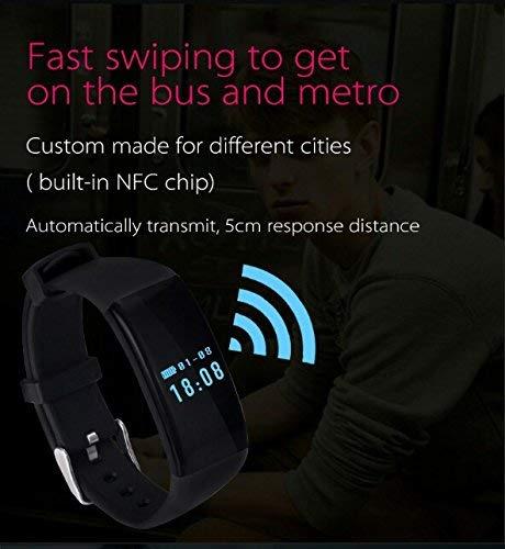 Smart Aktivitätstracker Fitness Tracker, Bluetooth Armbanduhr Herzfrequenzüberwachung, wasserdichter Schrittzähler für Jungen und Mädchen Überwachung des Schlafens, Armband, Sportarmband Android/iOS