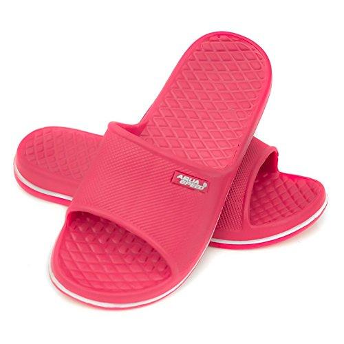 Aqua-Speed Kinder Cordoba Pool Schuhe, rosa (Pink/Weiß), 34 EU