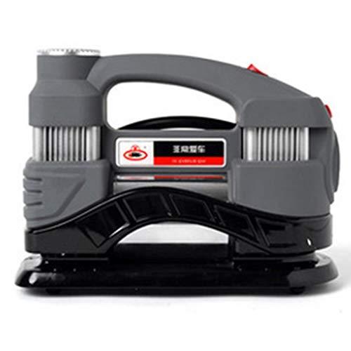 NSDFG Car air pump Lifebuoy Inflatable Elektro-Fahrrad-Kugel-Auto-Luftpumpe 12V Doppel-Zylinder-Leistungs-Auto-Hochdruck-Elektropumpe Aufpumpen des Autos