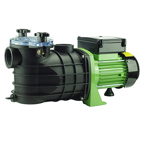 TRUTZHOLM® Schwimmbadpumpe Poolpumpe Filterpumpe Pumpe 550W / 800 W (550W / 10m³l/h)