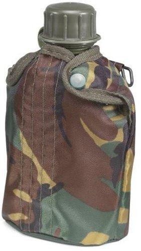Trinkflasche 1Liter, robuste Kunststofflasche, ideal für unterwegs (Camouflage)