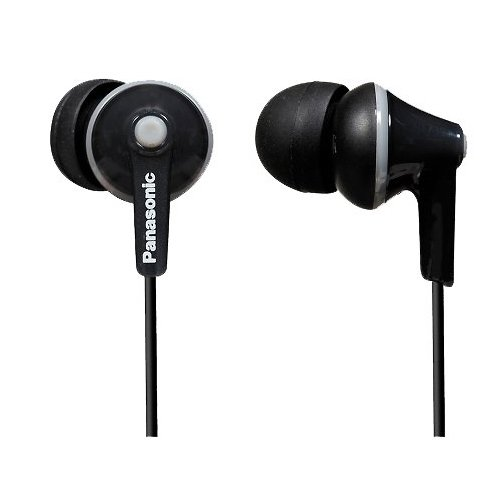 Panasonic RP-HJE125E-K n-Ear-Kopfhörer schwarz