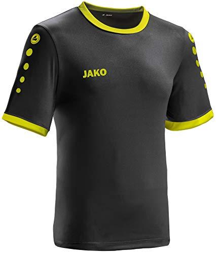 JAKO leichtes Team-Trikot schwarz-Lime Unisex Größe M Casual oder Sport Shirt super Herren und Damen