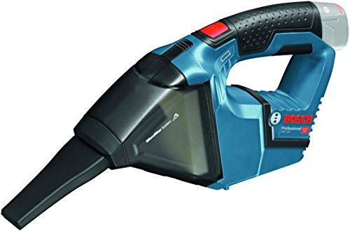 Bosch Professional GAS 12 V-LI Akku-Staubsauger (0, 35 L Behältervolumen, 0, 87kg, ohne Akku, click&go ohne Ladegerät in L-BOXX) 06019E3001
