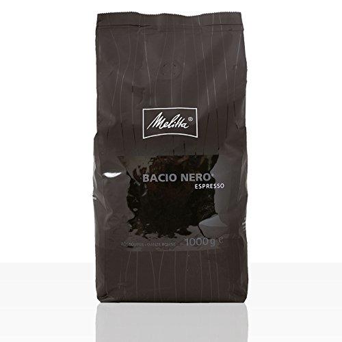 Melitta Espresso Bacio Nero - Karton 8 x 1kg ganze Kaffee-Bohne