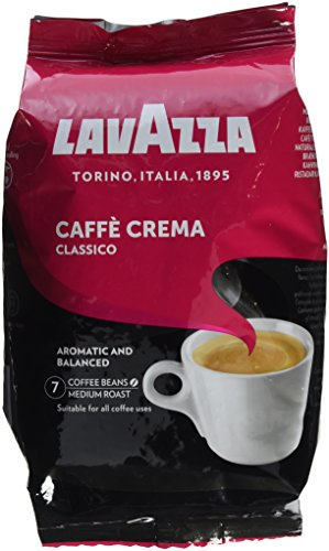 Lavazza Caffè Crema Classico, 1er Pack (1 x 1 kg)