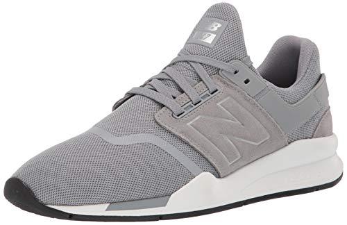 New Balance Herren 247v2 Sneaker, Silber Steel, 42 EU