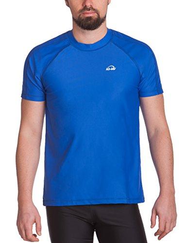 iQ-Company Herren UV-Schutz T-Shirt IQ 300 Watersport dark-blue, 3XL (58)