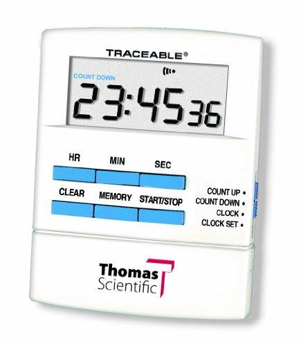 Thomas 5015rückverfolgbarem Talking Timer, 6,3cm Breite x 8,3cm Höhe x 1/5,1cm Dick