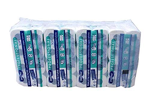 Toilettenpapier   WC Papier   Klopapier - 3 - lagig [96 Rollen] (EUR 0,25 / Rolle)